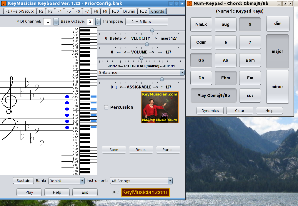 The KeyMusician Keyboard - The KeyMusician Keyboard