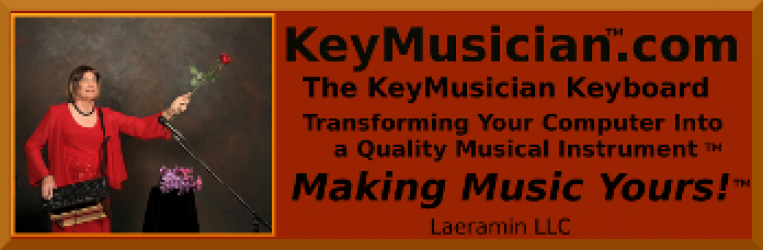 The KeyMusician ™ Keyboard